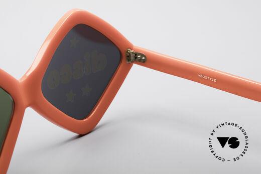 Neostyle Disco And Love Sonnenbrille, auf jeden Fall ein seltenes ungetragenes Original, Passend für Damen
