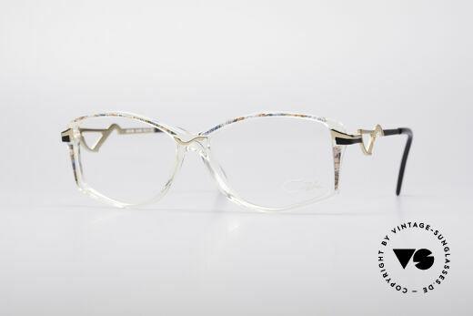 Cazal 369 90er Damen Designerbrille Details