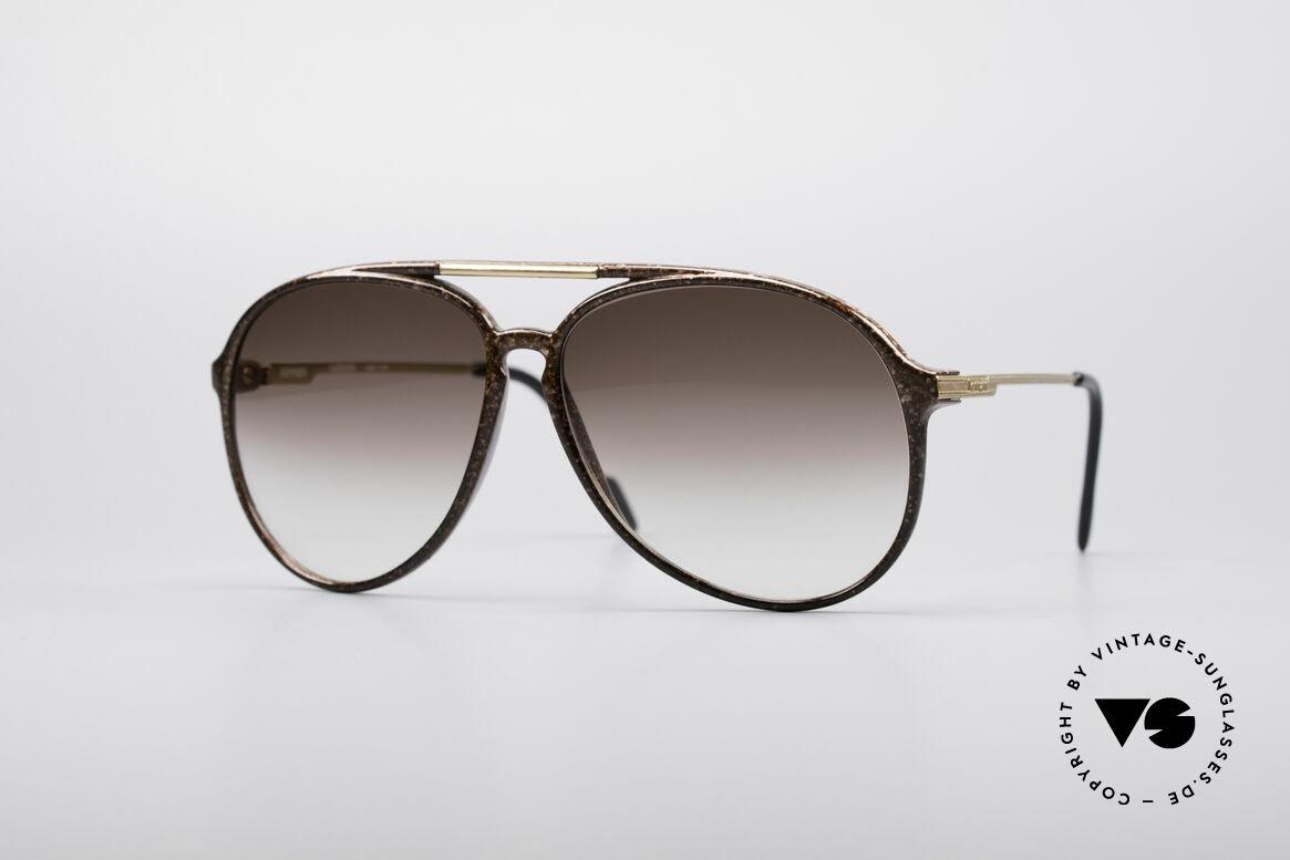 Ferrari F32 Karbon Vintage Fassung, kostbare vintage FERRARI Designer-Sonnenbrille, Passend für Herren