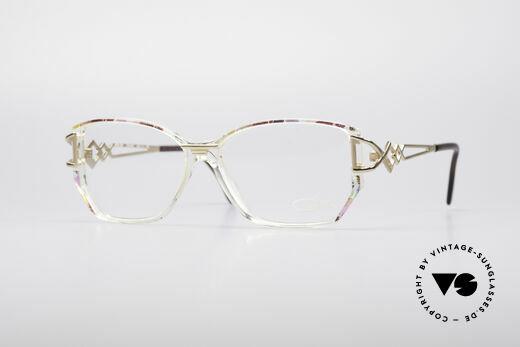 Cazal 367 90er Vintage Designerbrille Details