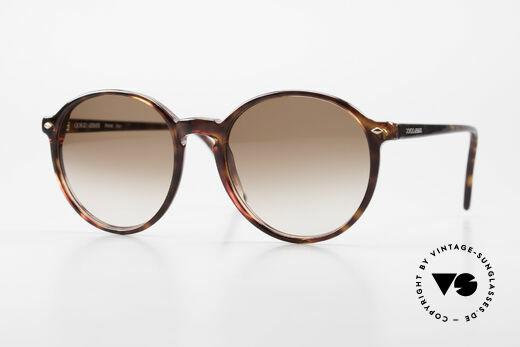 Giorgio Armani 325 Vintage Panto Sonnenbrille Details