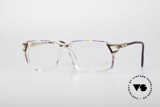 Cazal 371 No Retro Brille Echt Vintage Details