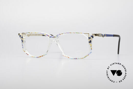 Cazal 357 Echt Vintage Designer Brille Details