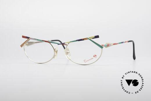 Casanova PMC1 24kt Gold-Plated Kunstbrille Details