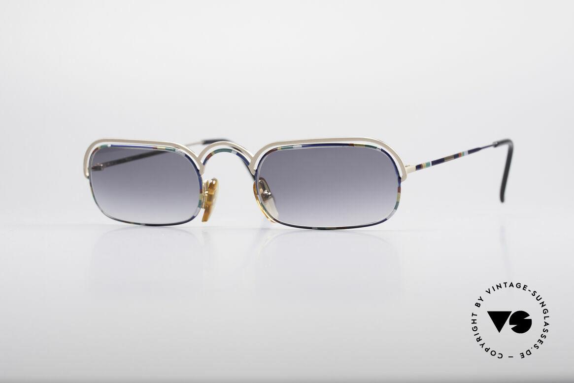 Casanova DV14 Dolce Vita Sonnenbrille, zauberhafte 80er Casanova Designer-Sonnenbrille, Passend für Herren und Damen