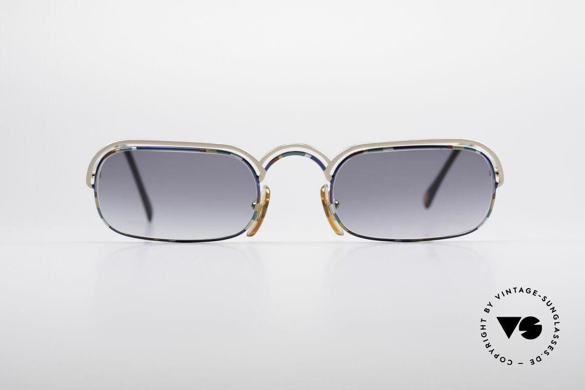 Casanova DV14 Dolce Vita Sonnenbrille, venezianisches Design in Anlehnung an das 18. Jh., Passend für Herren und Damen