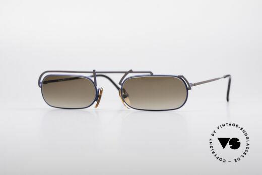 Casanova LC29 Kunstvolle 80er Vintage Brille Details