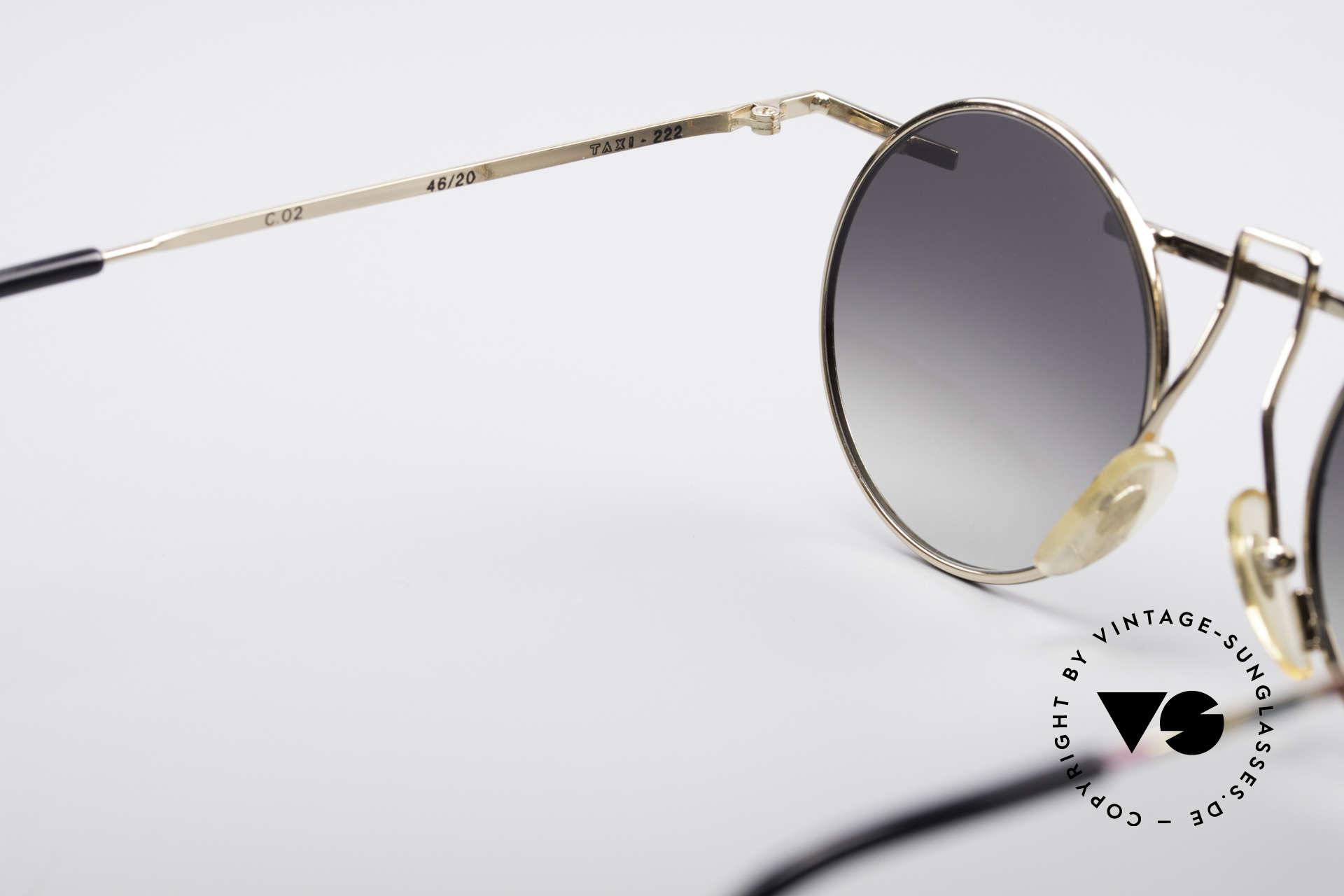 Taxi 222 by Casanova 80er Kunstbrille, für alle Brillenträger, die es schrill und humorvoll mögen, Passend für Damen
