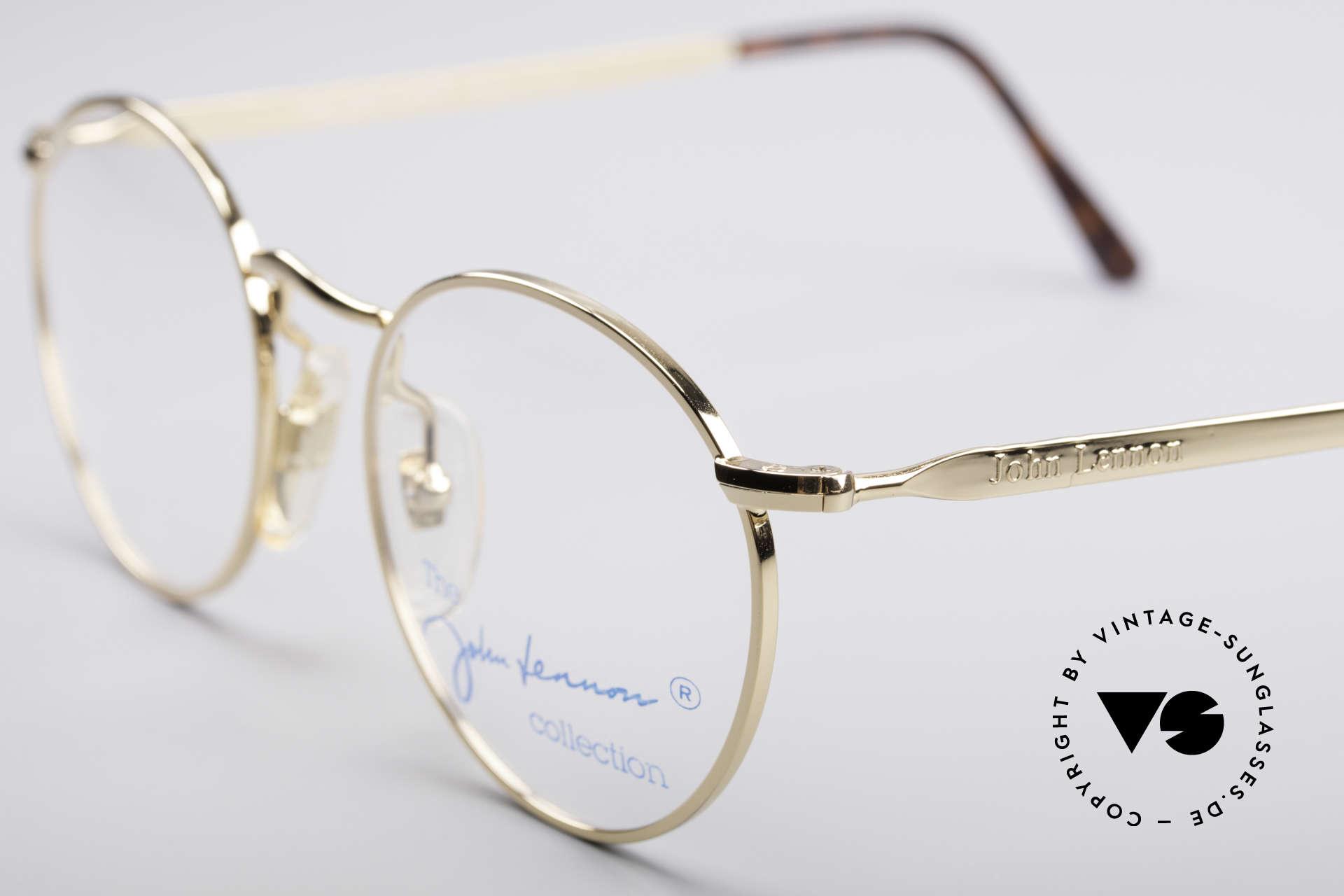 John Lennon - The Dreamer Extra Kleine Vintage Brille, legendärer; unverwechselbarer John LENNON Look, Passend für Herren und Damen