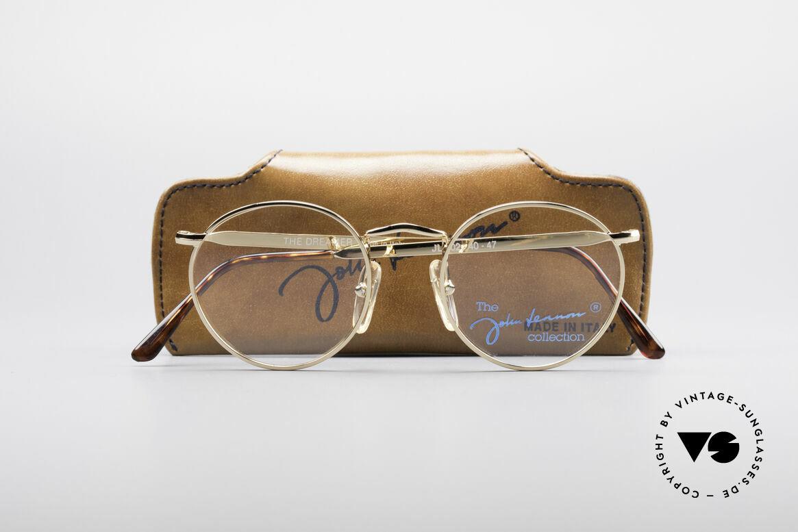 John Lennon - The Dreamer Extra Kleine Vintage Brille, KEINE RETRO-FASSUNG, sondern ein altes Original, Passend für Herren und Damen