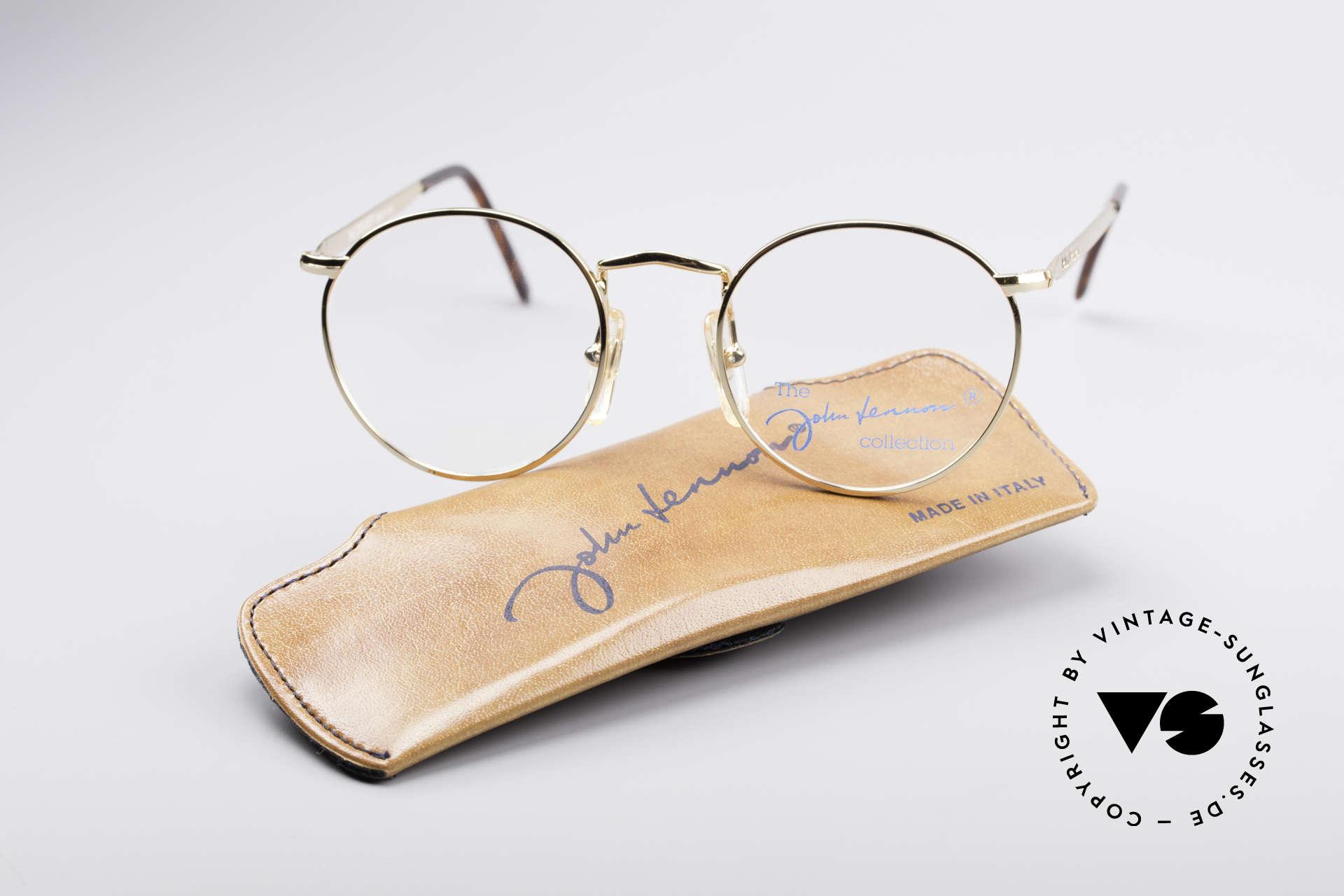 John Lennon - The Dreamer Extra Kleine Vintage Brille, ungetragen (wie alle unsere legendären JL Brillen), Passend für Herren und Damen