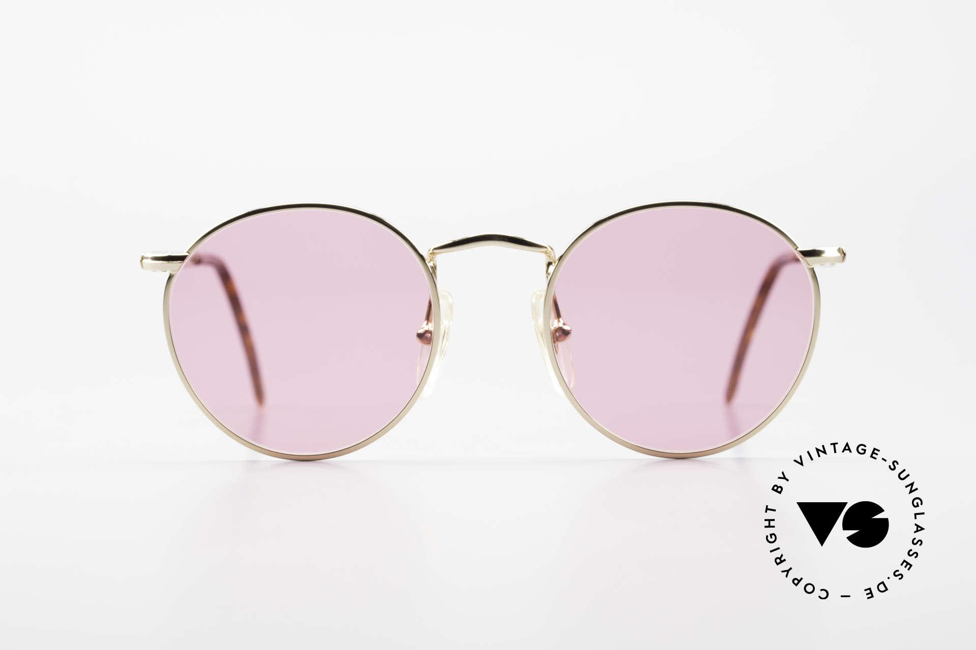 John Lennon - The Dreamer Die Rosarote Vintage Brille, vintage Brille der original 'John Lennon Collection', Passend für Herren und Damen