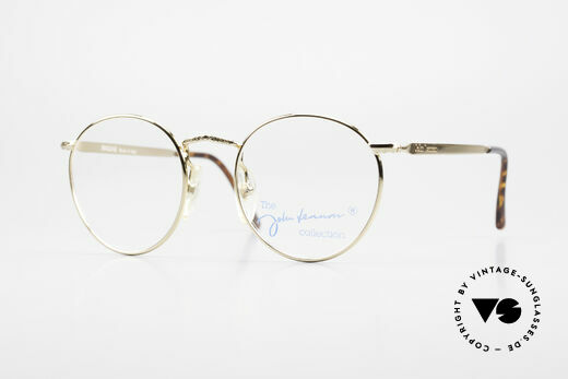 John Lennon - Imagine Kleine Runde Vintage Brille Details