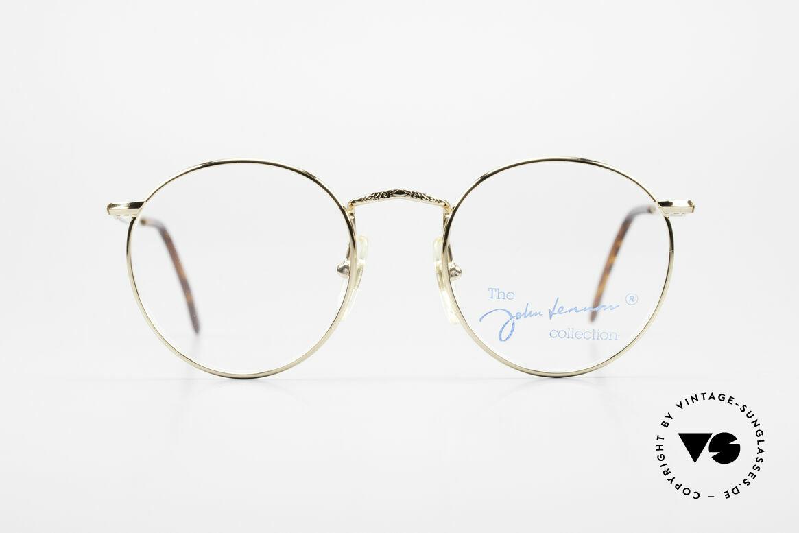 John Lennon - Imagine Kleine Runde Vintage Brille, vintage Brille d. original 'John Lennon Collection', Passend für Herren und Damen