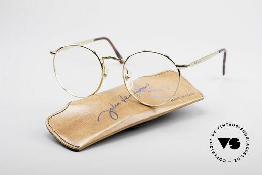 John Lennon - Imagine Kleine Runde Vintage Brille, ungetragen (wie alle unsere legendären JL Brillen), Passend für Herren und Damen