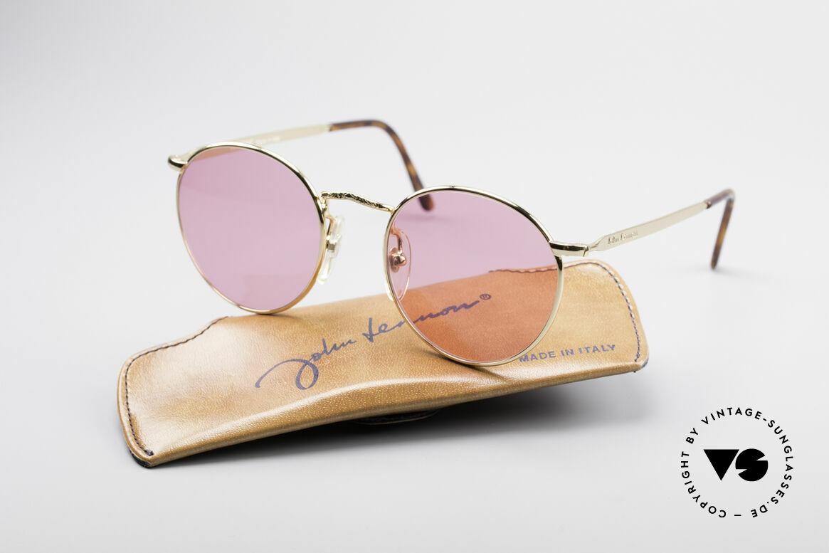 John Lennon - Imagine Die Rosarote Vintage Brille