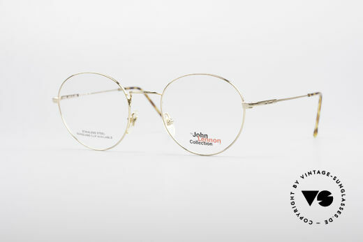 John Lennon - Steel And Glass Runde Vintage Brille Details