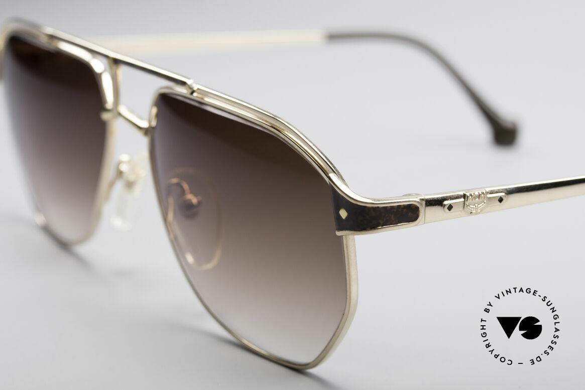 MCM München 6 XL Luxus Sonnenbrille, edle Fassung mit Seriennummer in Top-Qualität, Passend für Herren