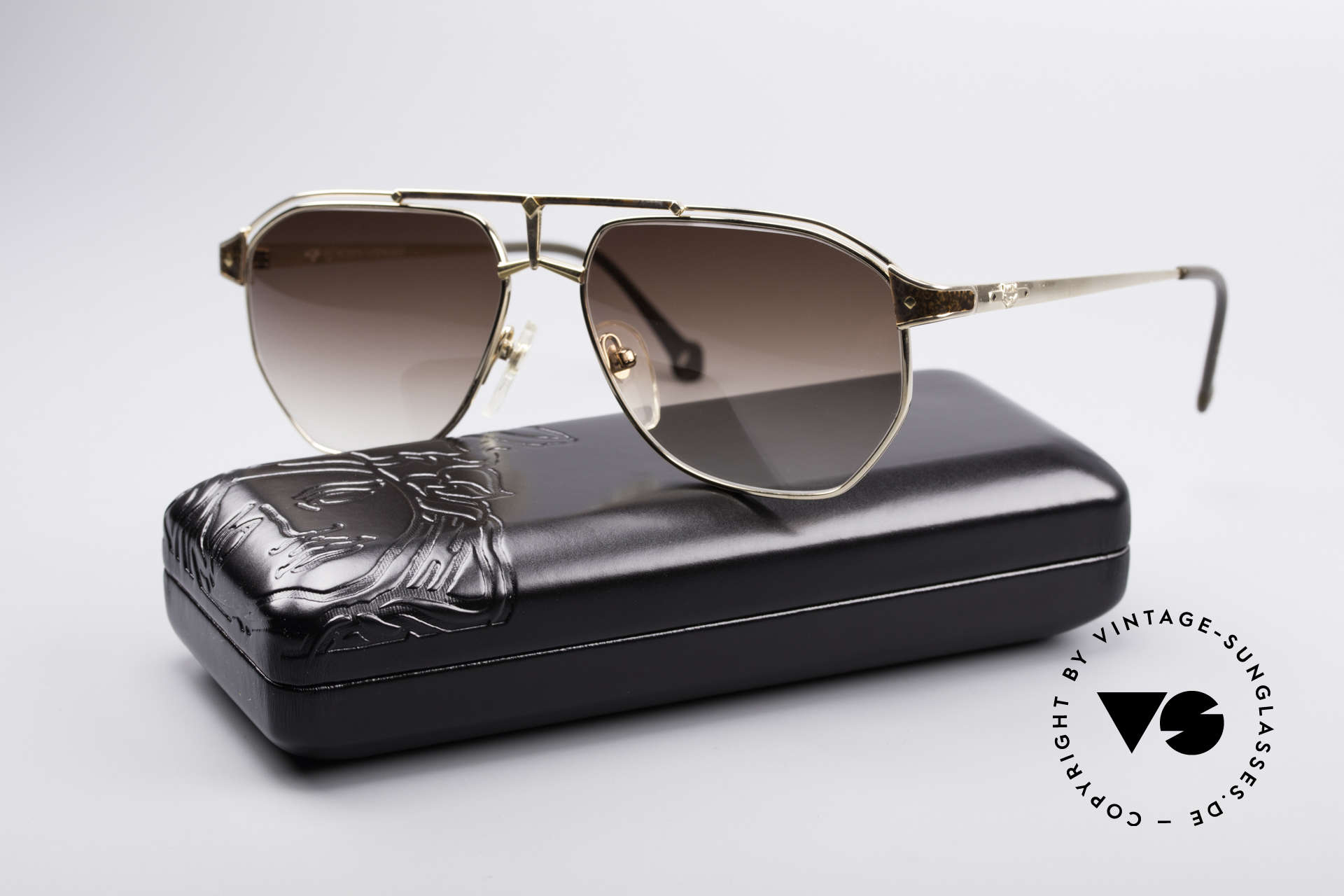 MCM München 6 XL Luxus Sonnenbrille, ungetragen (wie alle unsere alten MCM-Originale), Passend für Herren
