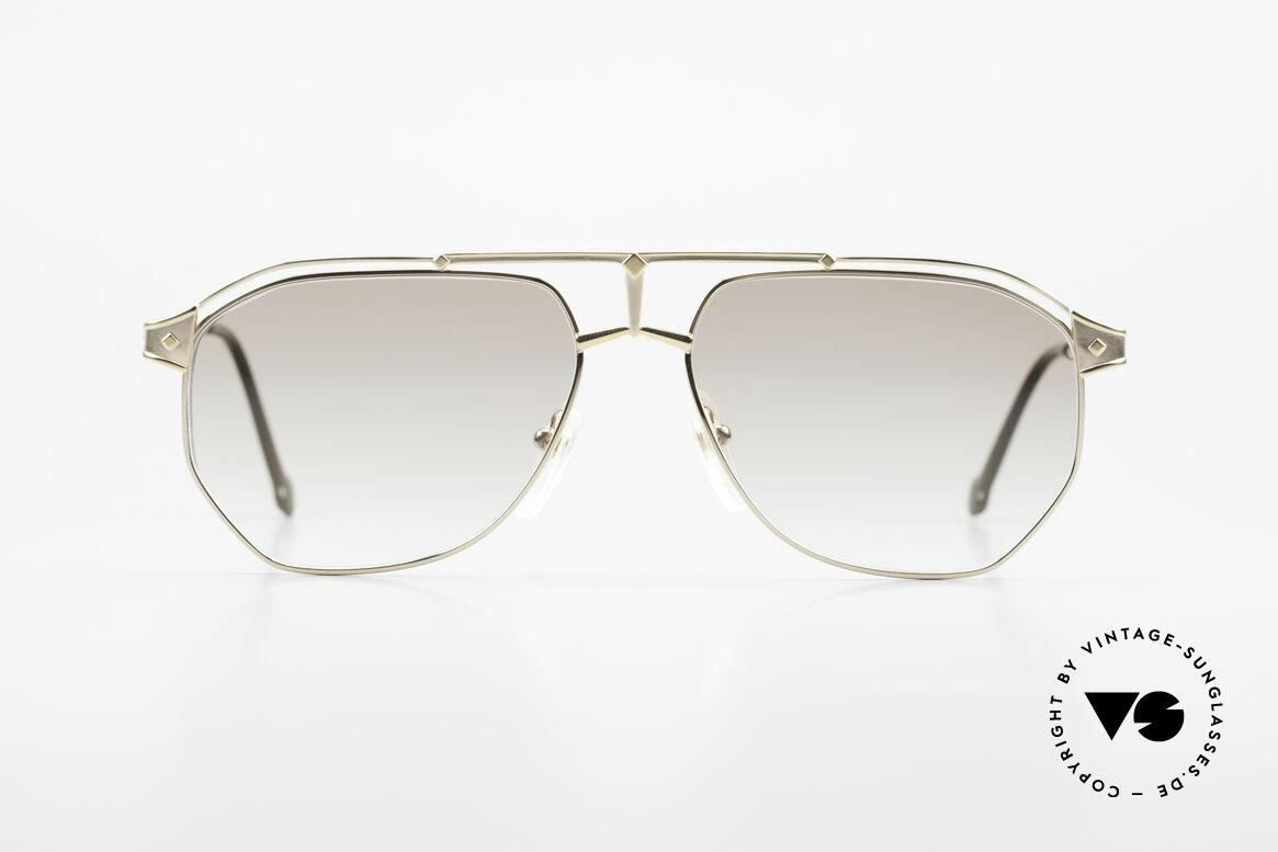 MCM München 6 XL Luxus Sonnenbrille 90er, modifizierte Pilotenform in 150mm Breite = XXL, Passend für Herren