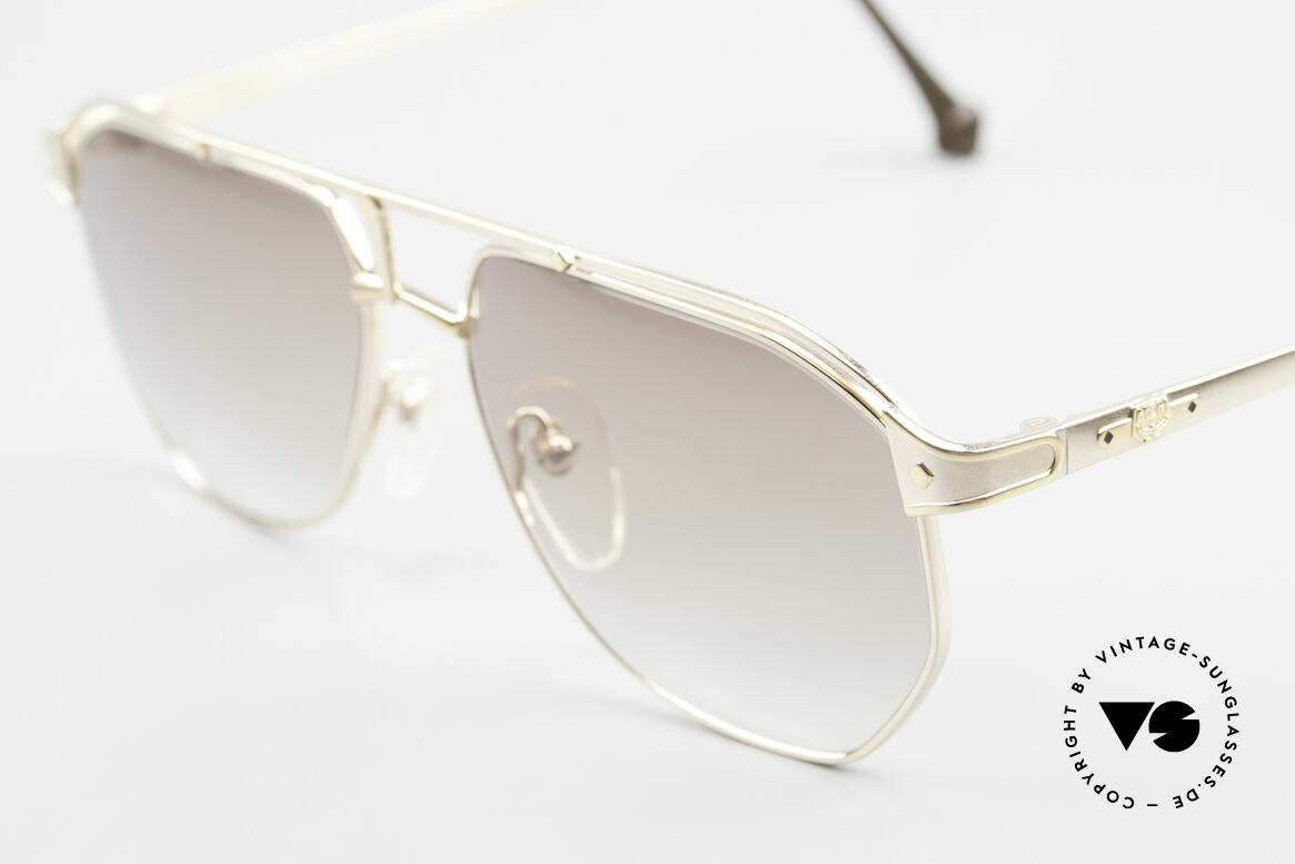 MCM München 6 XL Luxus Sonnenbrille 90er, edle Fassung mit Seriennummer in Top-Qualität, Passend für Herren