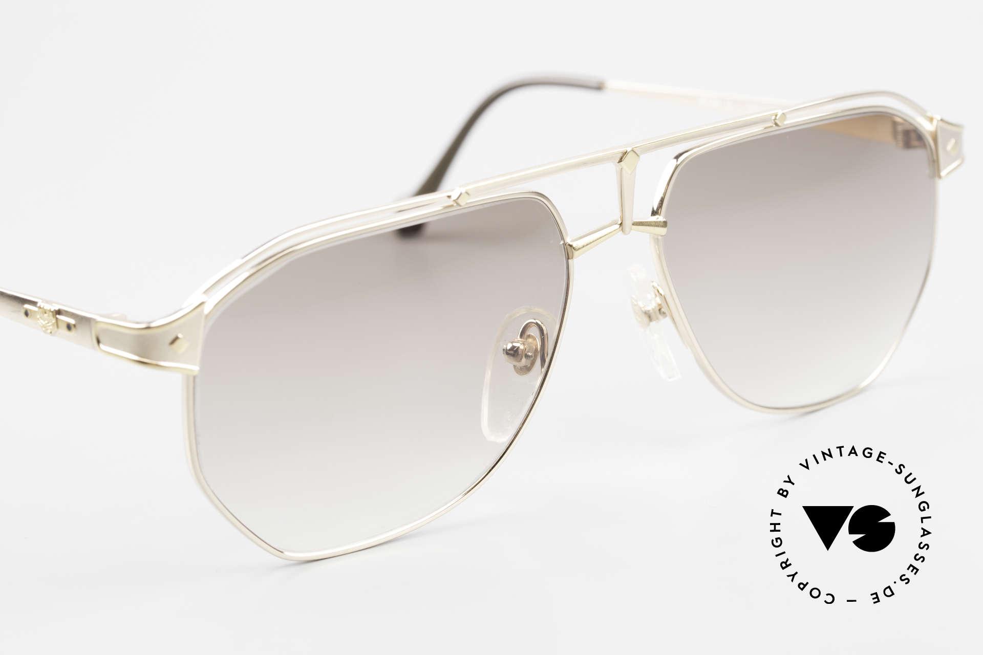 MCM München 6 XL Luxus Sonnenbrille 90er, Michael Cromer (MC), München (M) Luxus-Brille, Passend für Herren