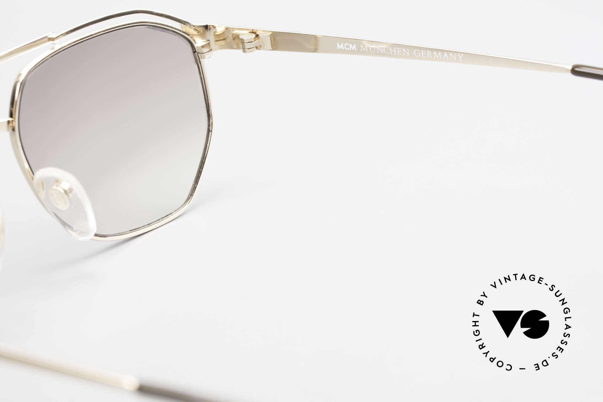 MCM München 6 XL Luxus Sonnenbrille 90er, KEINE Retromode; ein mind. 25 Jahre altes Unikat, Passend für Herren