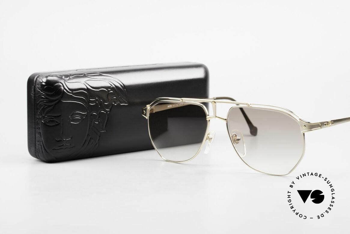 MCM München 6 XL Luxus Sonnenbrille 90er, Größe: extra large, Passend für Herren