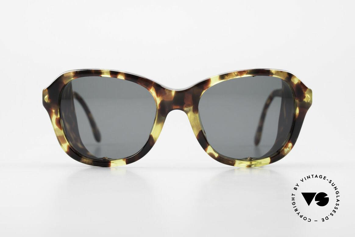 Giorgio Armani 826 No Retro Sonnenbrille 90er, außergewöhnliche Giorgio Armani Designer-Sonnenbrille, Passend für Damen