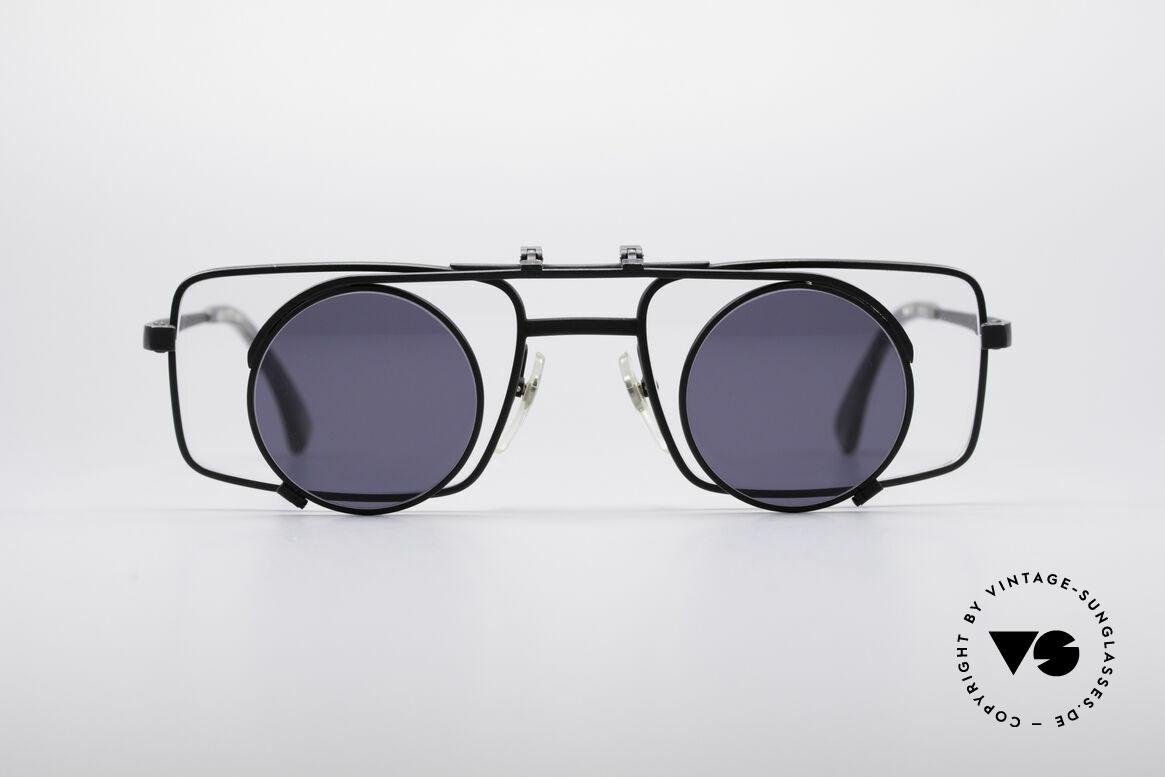 Alain Mikli 5667 / 011 Sonnenclip Brille, spektakuläre Designersonnenbrille von Alain Mikli, Passend für Herren