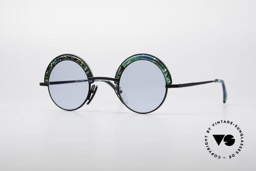 Alain Mikli 631 / 391 Runde Designerbrille Details