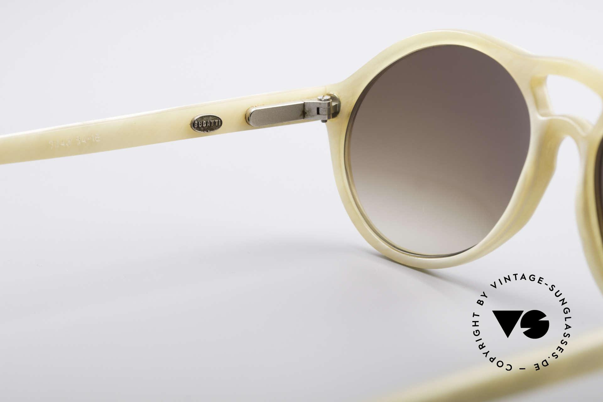 Bugatti 7343 Echt Büffelhorn Sonnenbrille, wahres UNIKAT: heutzutage kaum noch zu bekommen !!!, Passend für Herren