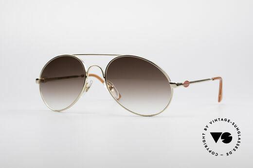 Bugatti 65986 80er Luxus Sonnenbrille Details