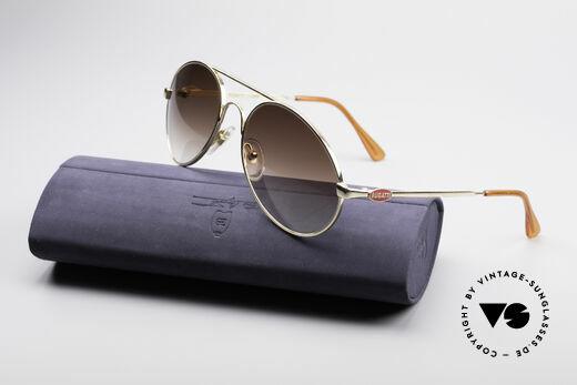 Bugatti 65986 80er Luxus Sonnenbrille, KEINE Retrobrille; sondern ein altes ORIGINAL, Passend für Herren