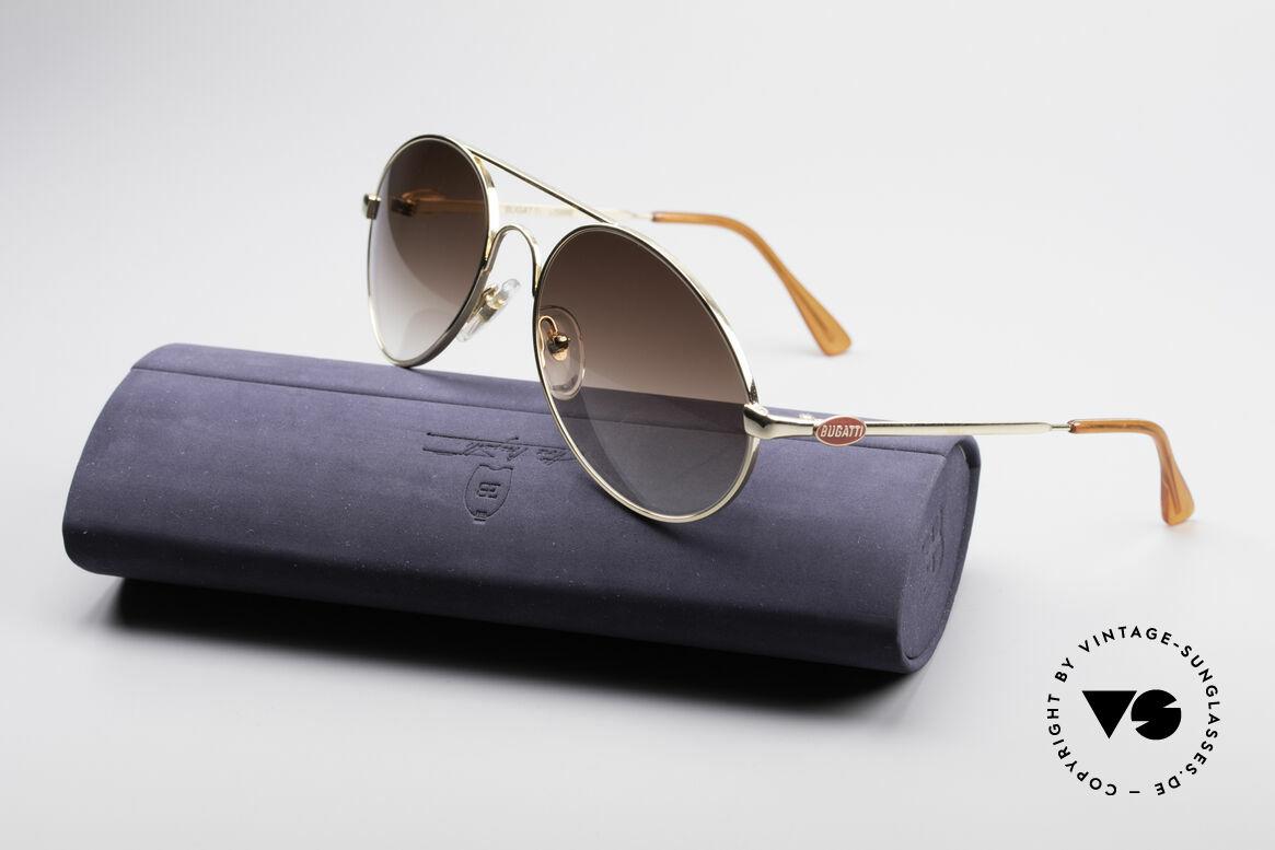 Bugatti 65986 80er Luxus Sonnenbrille