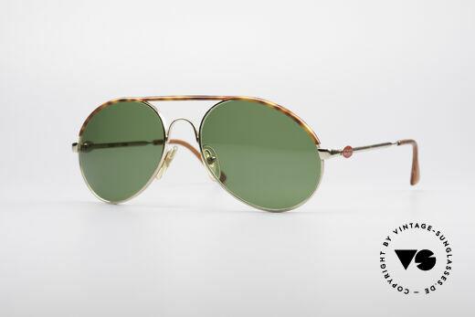 Bugatti 65986 80er Herren Sonnenbrille Details