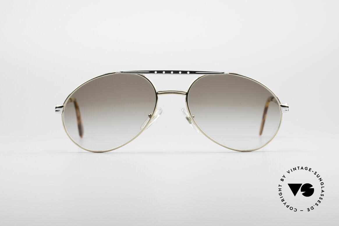 Bugatti 02908 90er Herren Sonnenbrille, sehr elegante Bugatti vintage Designer-Sonnenbrille, Passend für Herren