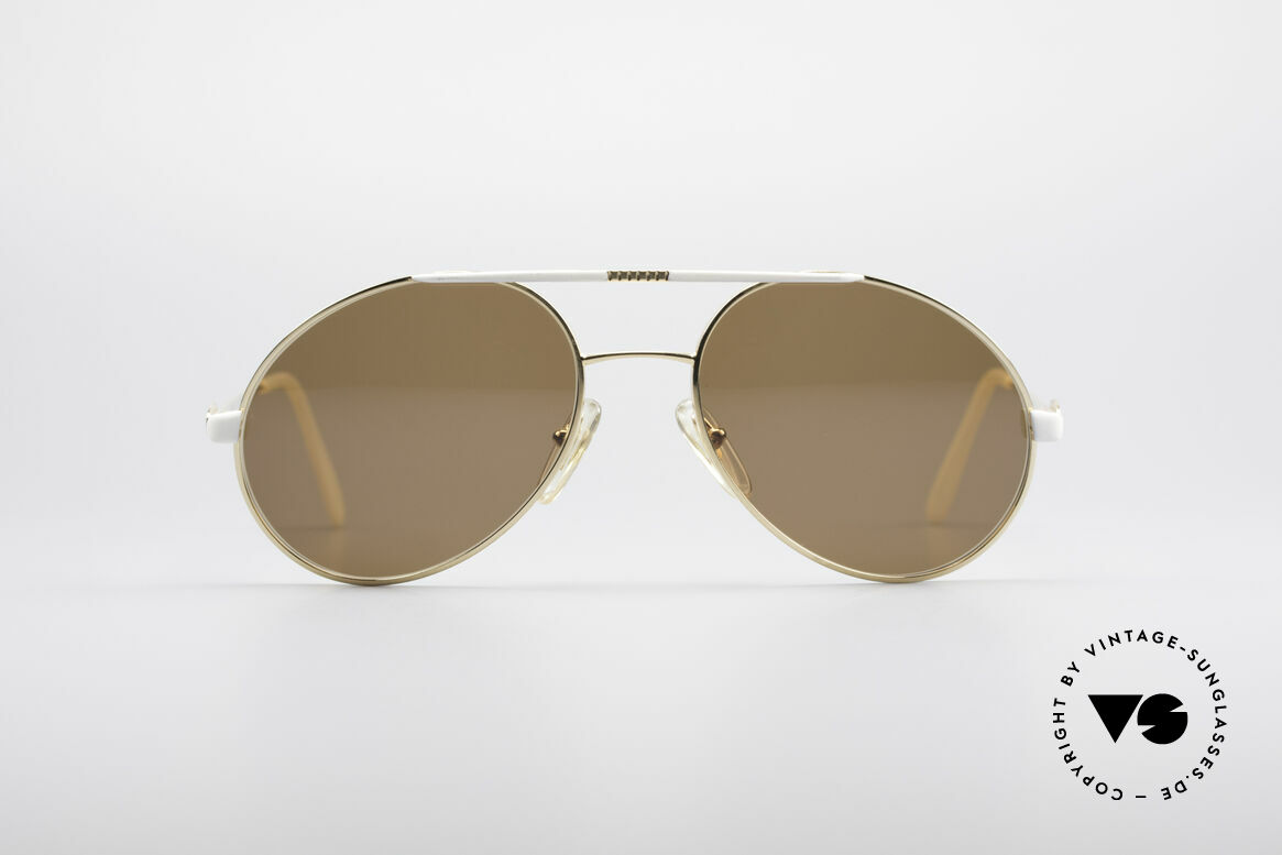 Bugatti 64908 Original 80er Sonnenbrille, klassische 80er Bugatti vintage Herren-Sonnenbrille, Passend für Herren