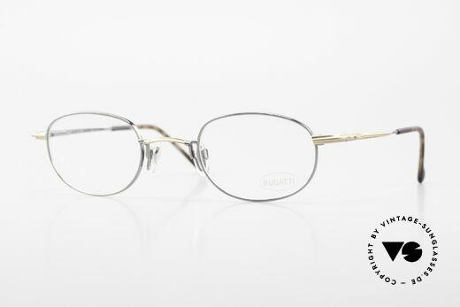 Bugatti 23592 Rare 90er Luxus Brillenfassung Details