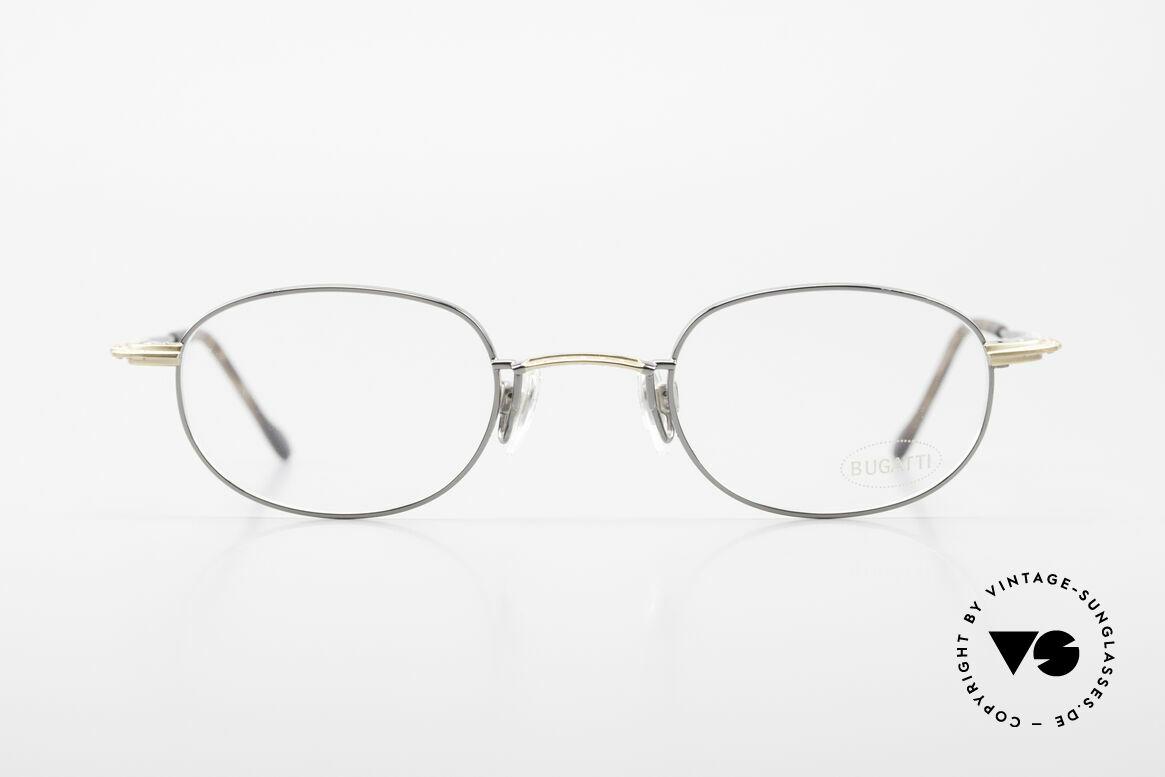 Bugatti 23592 Rare 90er Luxus Brillenfassung, sehr elegante vintage BUGATTI Brillenfassung, Passend für Herren