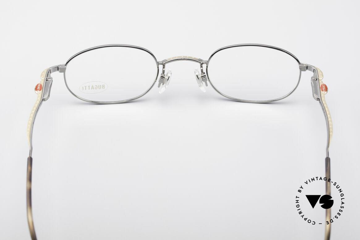 Bugatti 23592 Rare 90er Luxus Brillenfassung, ungetragen (wie alle unsere Bugatti Fassungen), Passend für Herren