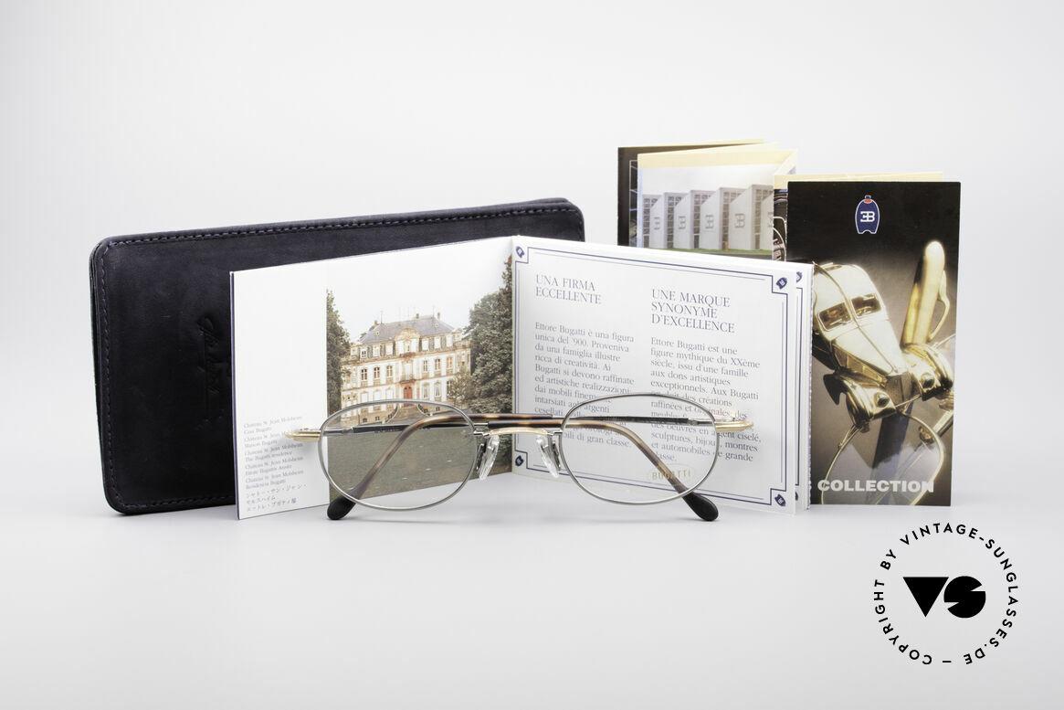 Bugatti 23592 90er Luxus Brillenfassung