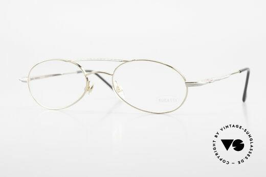 Bugatti 22996 Rare 90er Herren Luxusbrille Details
