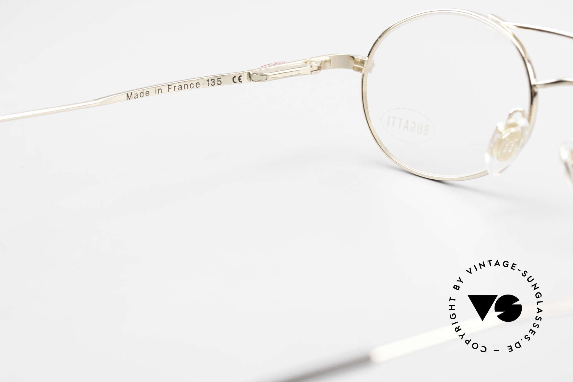 Bugatti 22996 Rare 90er Herren Luxusbrille, KEINE Retrobrille, sondern ein altes ORIGINAL, Passend für Herren