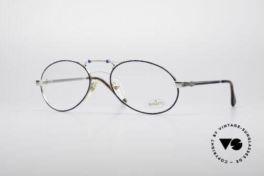 Bugatti 13438 Echt 90er Brillenfassung Details