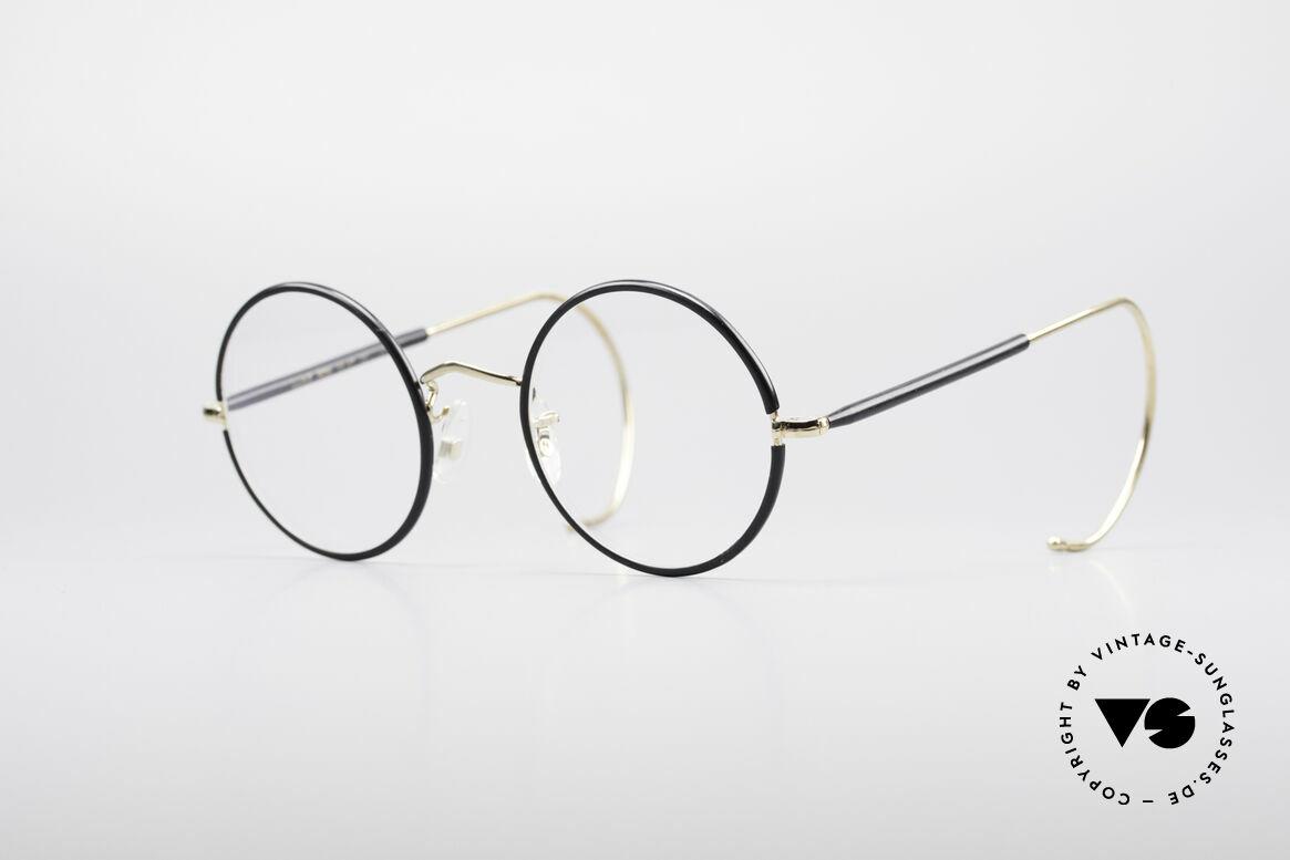 Savile Row Round 47/22 Harry Potter Brille, 'The Savile Row Collection' von ALGHA, UK Optical, Passend für Herren