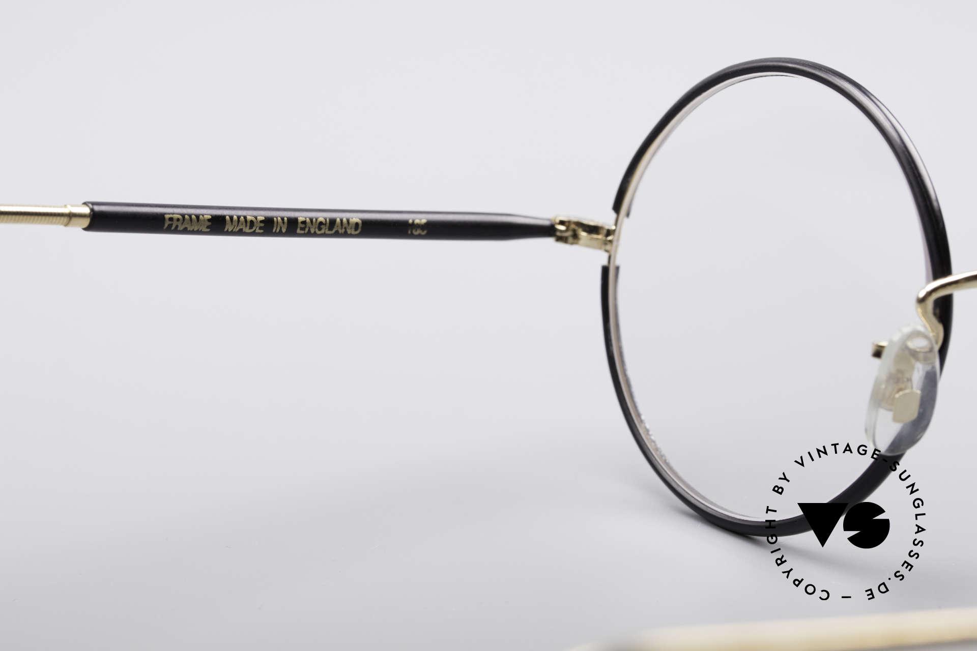 Savile Row Round 47/22 Harry Potter Brille, unbenutztes 'new old stock' Einzelstück in Gr. 47/22, Passend für Herren