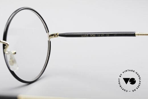 Savile Row Round 47/22 Harry Potter Brille, KEINE Retrobrille; ein mind. 30 Jahre altes ORIGINAL, Passend für Herren