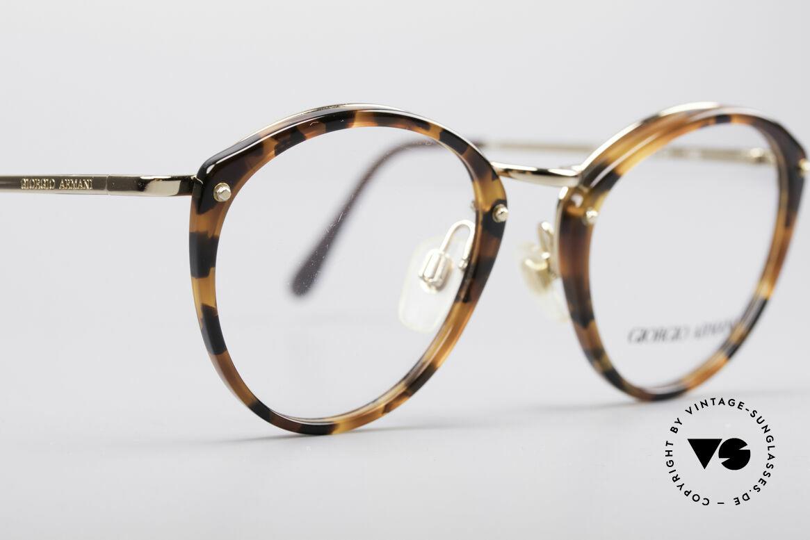 Giorgio Armani 354 80er Designerbrille, ungetragen (wie alle unsere 80er Jahre Design-Klassiker), Passend für Herren und Damen