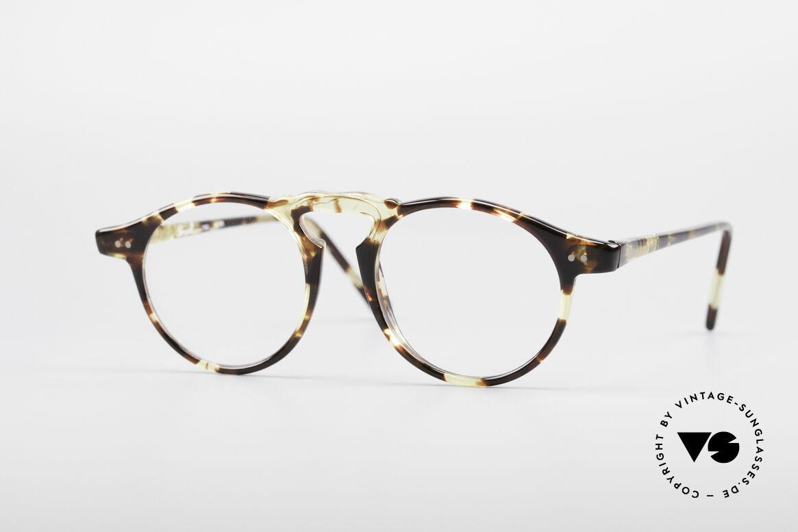 Persol 750 Ratti 80er Panto Brille, klassische vintage Brillenfassung vom Persol Ratti, Passend für Herren und Damen